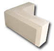 A 3D image of a Chamfered Quoin